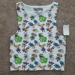 Rugrats theme tank top